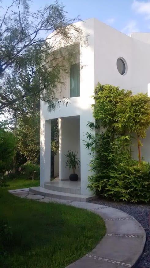 Casas de estilo  por arquitecto9.com