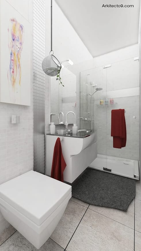 Varios: Baños de estilo  por arquitecto9.com