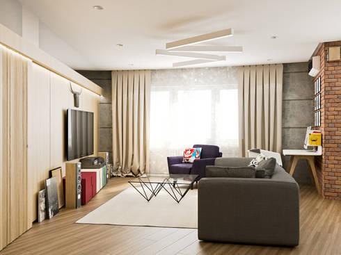 <q class='-first'>L</q> apartment: Гостиная в . Автор – PlatFORM