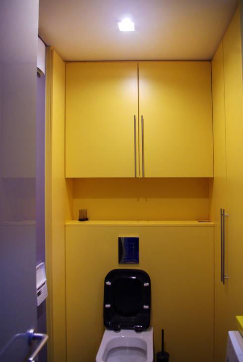Технический сан.узел: Ванная комната в . Автор – PlatFORM