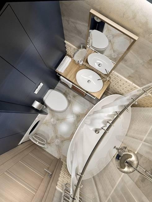 Ванная: Ванные комнаты в . Автор – PlatFORM