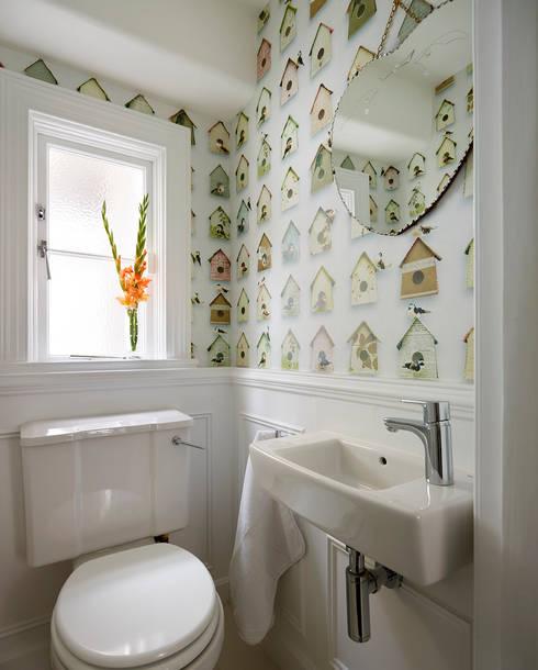 Reflected Glory - Holland Park Renovation:  Bathroom by Tyler Mandic Ltd
