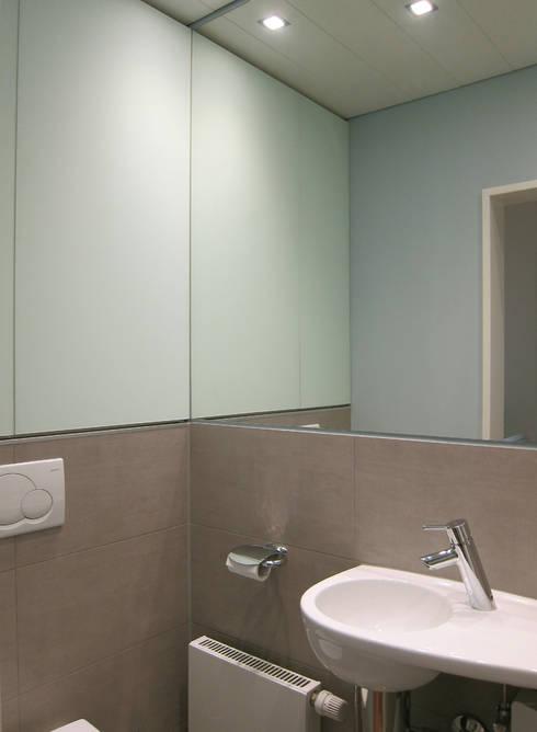 winziges g ste wc von hansen innenarchitektur materialberatung homify. Black Bedroom Furniture Sets. Home Design Ideas