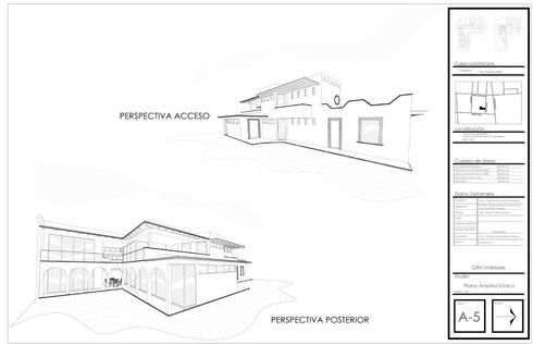 Casa Alzatí: Casas de estilo colonial por GRH Interiores