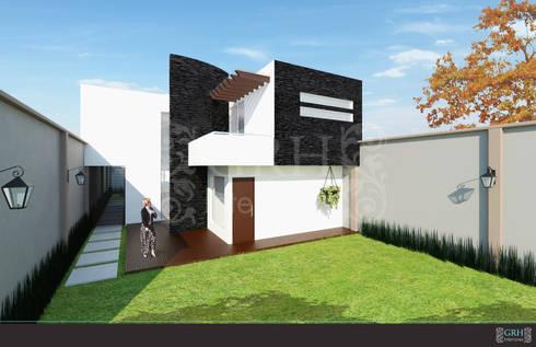 Proyecto Chaga: Casas de estilo moderno por GRH Interiores