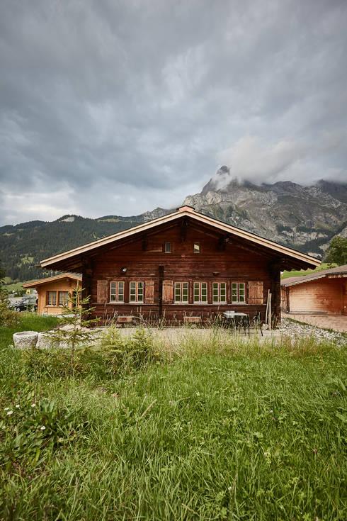 Chalet nr 10: landhausstil Häuser von gehret design gmbh