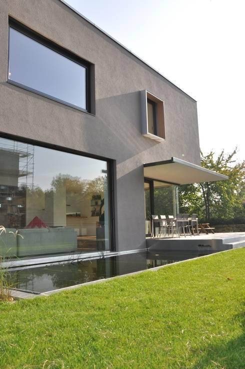 Projekty,  Domy zaprojektowane przez Neugebauer Architekten BDA