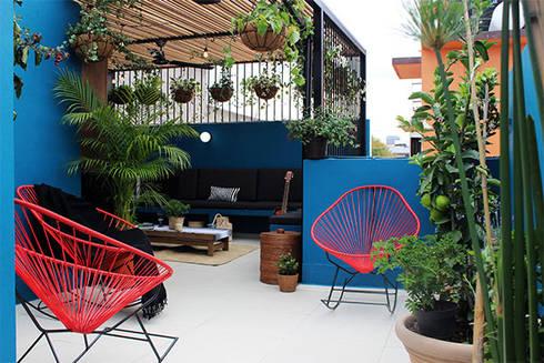 Remodelación Terraza: Terrazas de estilo  por NINA SAND