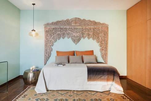 Morocan Room: Quartos modernos por Ana Rita Soares- Design de Interiores