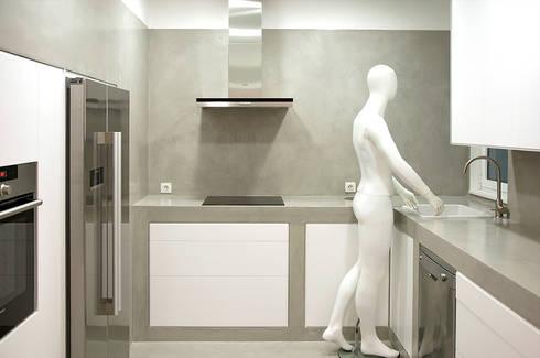 MEETING POINT: Cocinas de estilo moderno de soma [arquitectura imasd]