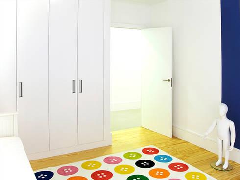 MEETING POINT: Dormitorios de estilo moderno de soma [arquitectura imasd]