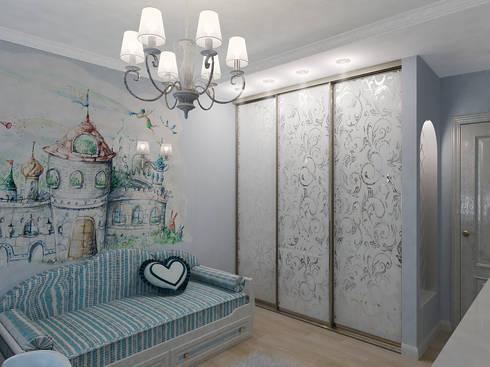 Легкая классика: Детские комнаты в . Автор – Алиса Ерыкова Художественное проектирование