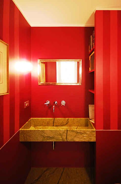 Bathroom by andrea borri architetti