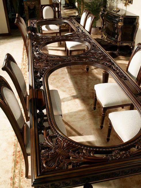 Special curved table 5 meters: Hogar de estilo  de Estilo DECORARCHER
