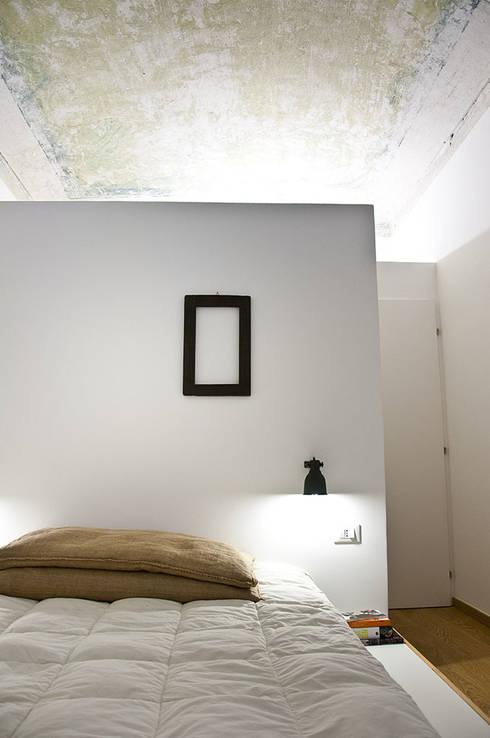 غرفة نوم تنفيذ R3ARCHITETTI