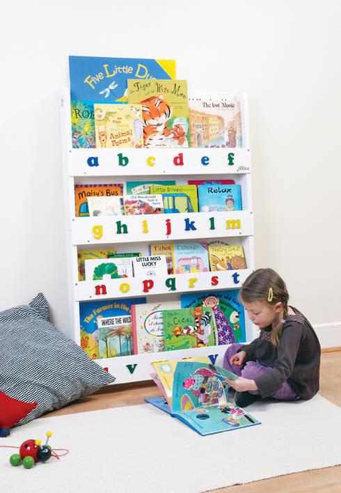 Tidy Books Children's Bookcase - white: modern Nursery/kid's room by Tidy Books