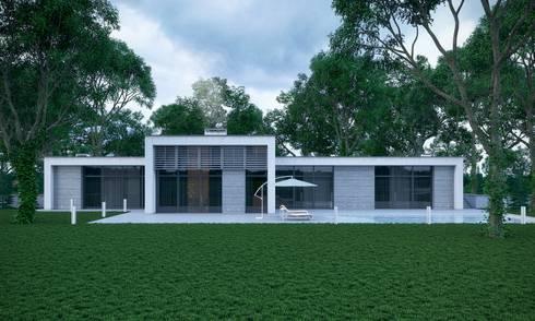 Современный дом: Дома в . Автор – Максим Любецкий