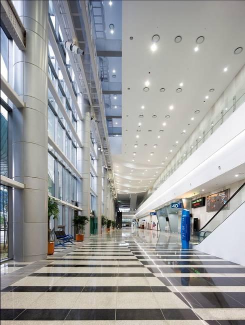 벡스코 : (주)일신설계종합건축사사무소의  회의실