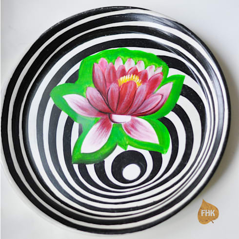 Surreal Lotus - Plate:  Artwork by The House of Folklore