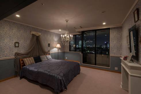 shinagawa: 夏水組が手掛けた寝室です。