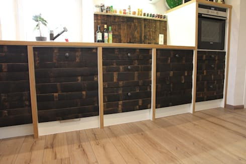 sign of wine k che von holz design schlichter homify. Black Bedroom Furniture Sets. Home Design Ideas