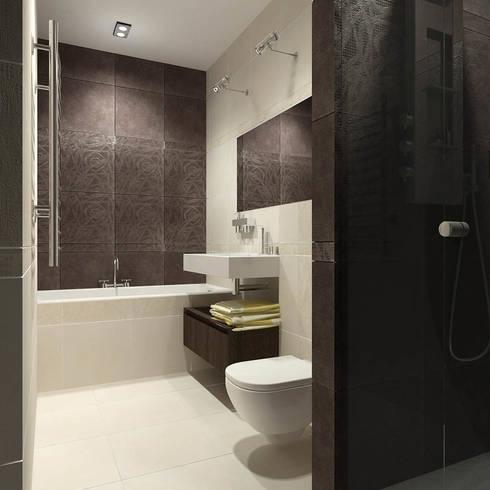Квартира  холостяка: Ванные комнаты в . Автор – Efimova Ekaterina