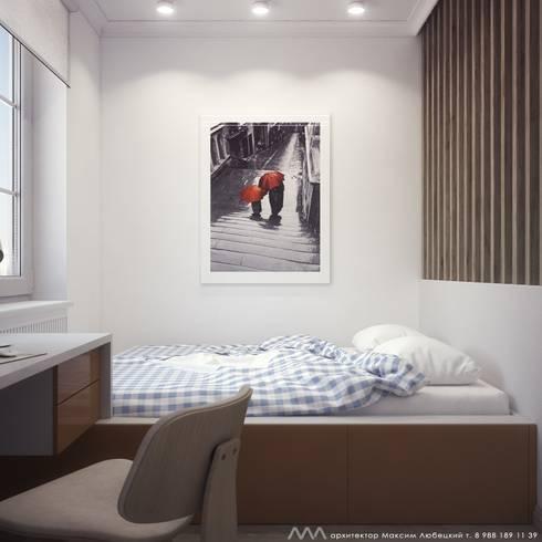 квартира на Светлане: Спальни в . Автор – Максим Любецкий