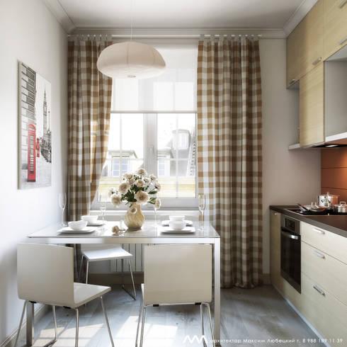 квартира на Светлане: Кухни в . Автор – Максим Любецкий