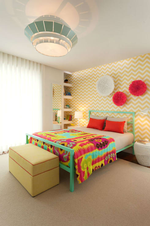 غرفة نوم تنفيذ Ana Rita Soares- Design de Interiores