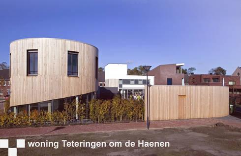 woning Teteringen, huis en bijgebouw: moderne Huizen door Florian Eckardt - architectinamsterdam