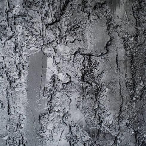 Scrusted black:  Muren & vloeren door Dofine wall   floor creations