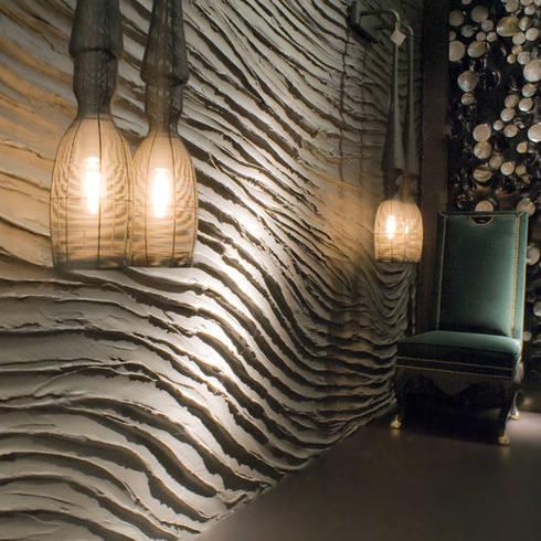 Flow sharp grey:  Muren & vloeren door Dofine wall   floor creations