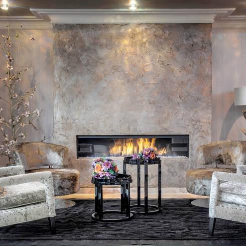 Fine Riche:  Muren & vloeren door Dofine wall   floor creations