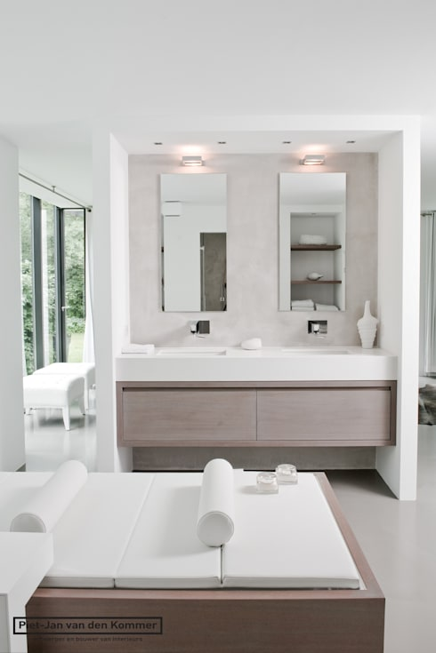 Badkamer:  Badkamer door Piet-Jan van den Kommer
