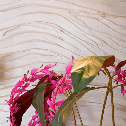 Flow matt:  Muren & vloeren door Dofine wall | floor creations