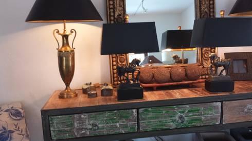Ideen für Leuchten, Einzelstücke: klassische Wohnzimmer von LaProDi - Atelier Winter