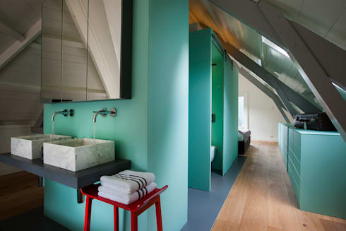 a-LEX: Luxe bad- en slaapkamer in monumentaal pand | homify