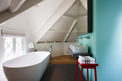 Luxe bad- en slaapkamer in monumentaal pand door a-LEX | homify