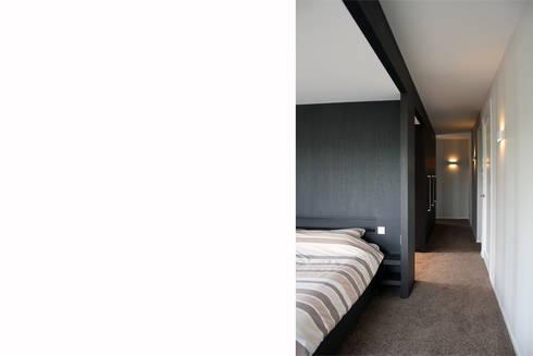 Notariswoning: moderne Slaapkamer door a-LEX