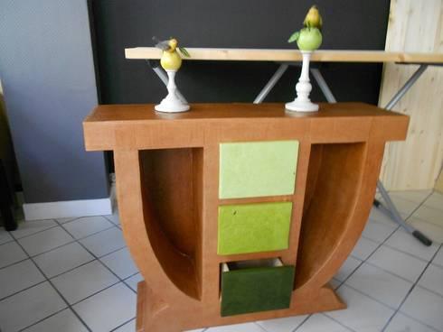 Petits meubles en carton pour chambre d 39 h te chambre d for Console pour vestibule