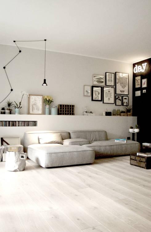 Projekty,  Salon zaprojektowane przez Moodern