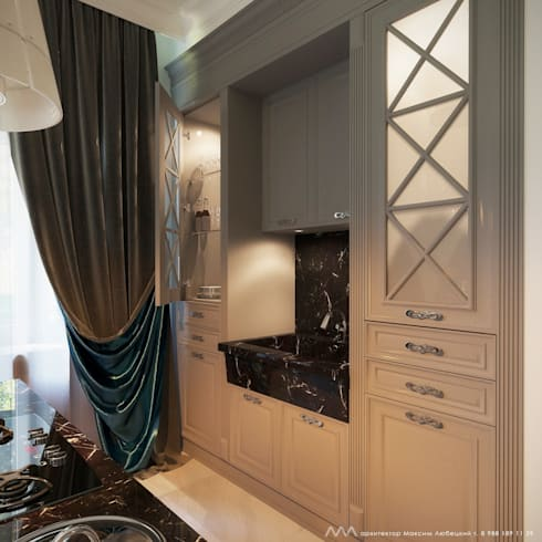 Интерьер дома: Кухни в . Автор – Максим Любецкий