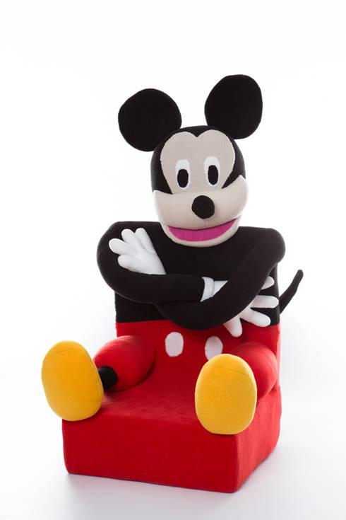 Fotelik myszka : styl , w kategorii Pokój dziecięcy zaprojektowany przez Pracownia Projektowa Pink Frog
