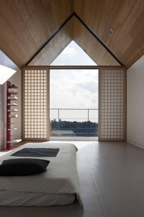 Projekty,  Sypialnia zaprojektowane przez ARCHITECT GROUP CAAN