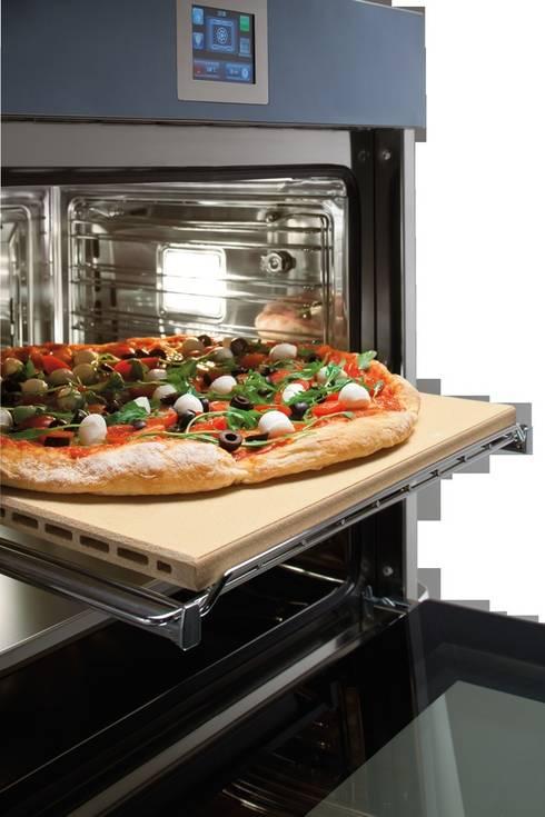 PowERGEneration Backofen Velvet - Pizzastein: klassische Küche von ERGE GmbH