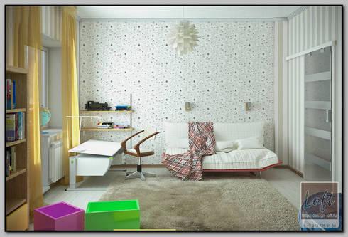 Детская комната для мальчика: Детские комнаты в . Автор – Мастерская дизайна  LOFT