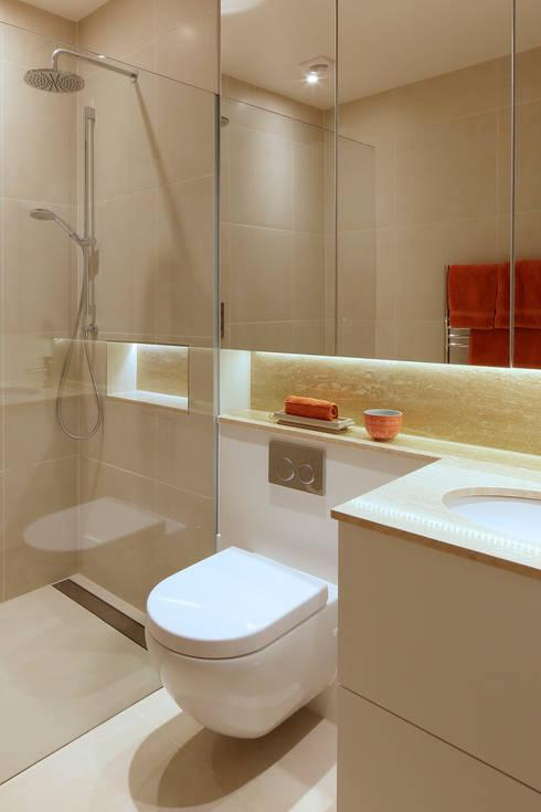 Redesdaale Street Chelsea Basement Development Bathroom: modern Bathroom by Shape Architecture