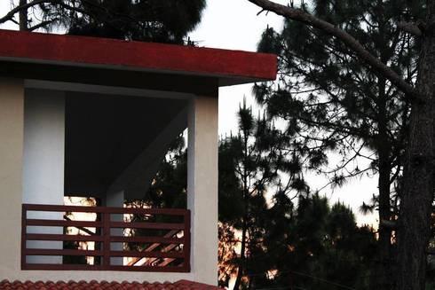 balcony detail:  Terrace by mold design studio