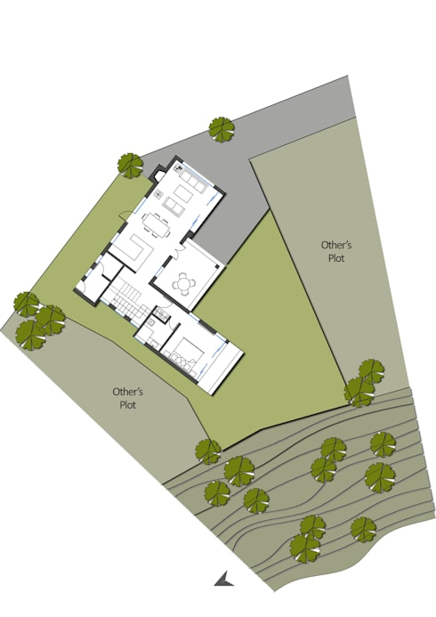 site plan:   by mold design studio