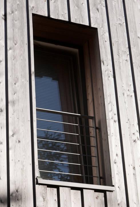 umbau von der scheune zum wohnhaus von lecke architekten homify. Black Bedroom Furniture Sets. Home Design Ideas
